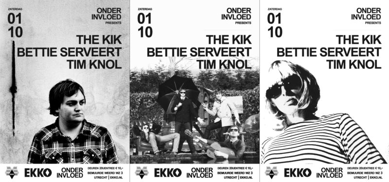 Bettie Serveert completes the line up for Onder Invloed at EKKO