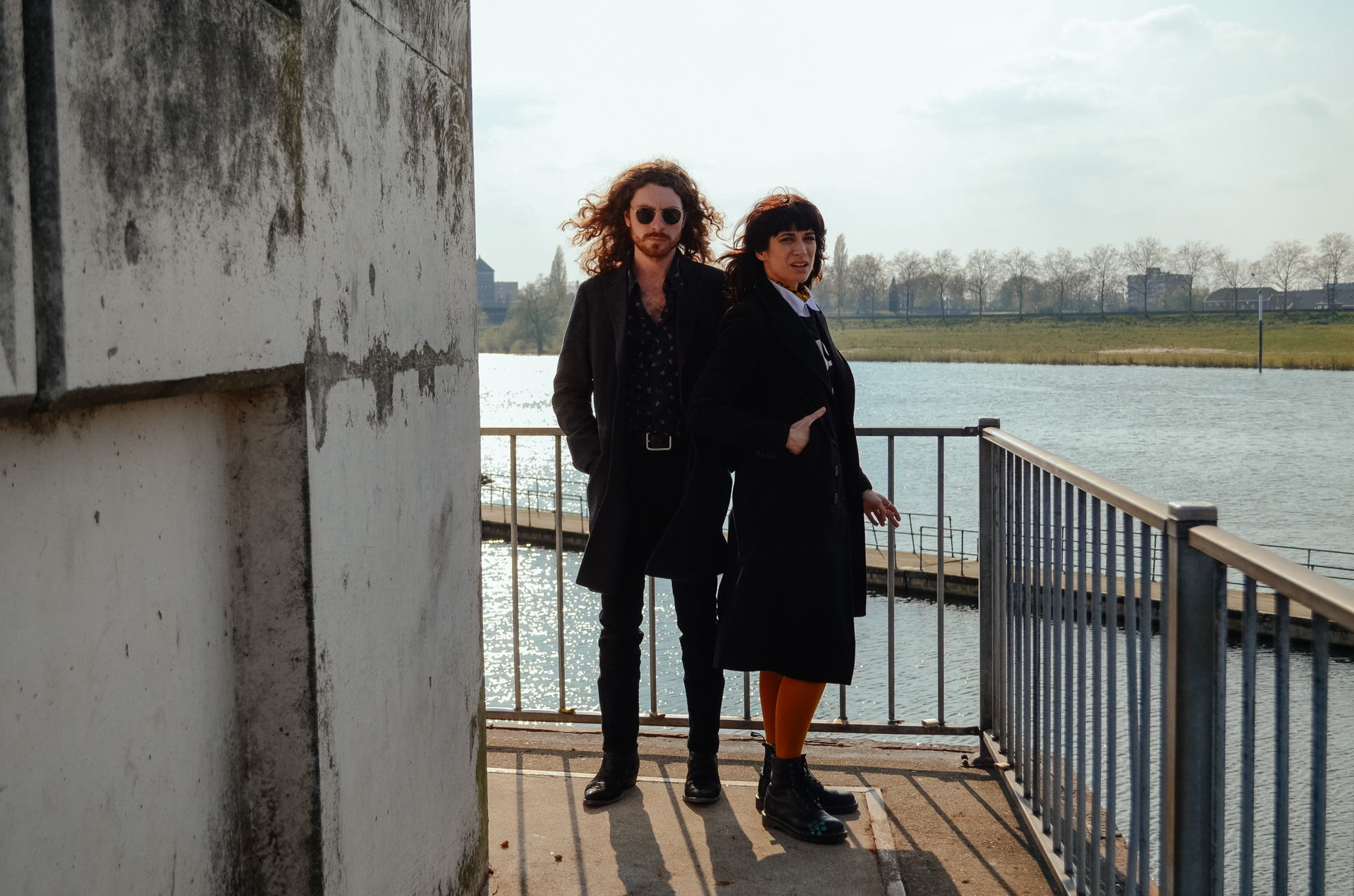 Davey Horne & Nicole Atkins (Photo by Matthijs van der Ven for The Influences)